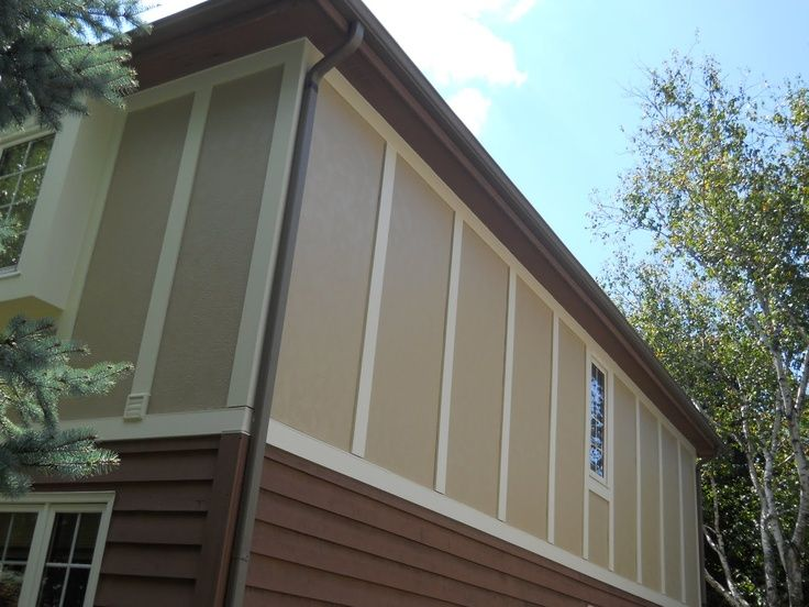 Stucco Cement Board Siding : James hardie stucco panels craftsman details exterior