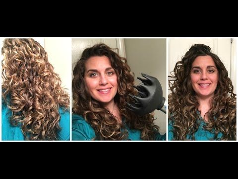 How To Style And Get Frizz Free Curly Wavy 2b 2c 3a Hair Using The Curly Girl Method I Am Using The Leg Method L Leave In Barbara Mori Curly Girl Method Hair
