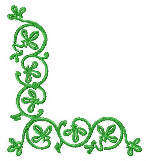Celtic Corner Designs Clipart Best Celtic Pinterest