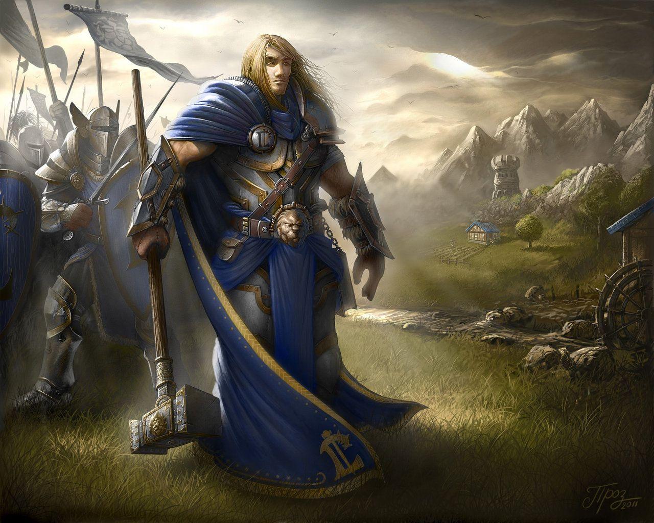 Prince Arthas by TamplierPainter.deviantart.com on ...
