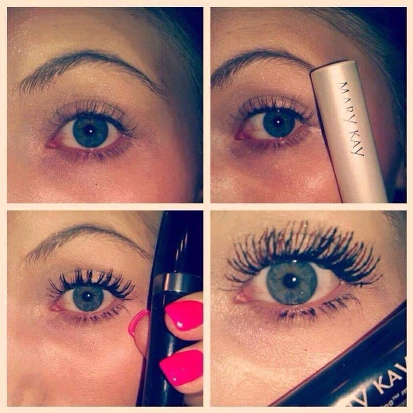 Here Is An Example Of What Mary Kay Lash Primer Ultimate Mascara