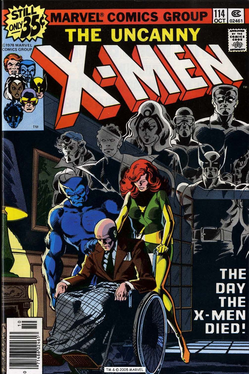 The day the xmen diedud xmen n october cover by