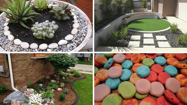 Como Decorar Mi Jardin Pequeno Con Piedras Decoracion Jardines Pequenos Decoraciones De Jardin Jardines