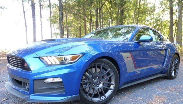 2017 Ford Mustang Roush Stage 3 In Blue Metallic 70231 Ford Mustang Roush 2017 Ford Mustang Ford Mustang