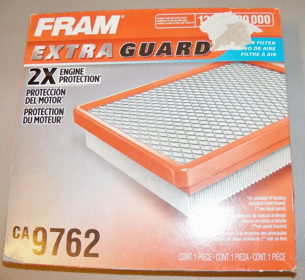 FRAM Extra Guard 2x Engine Protection Air Filter CA9762