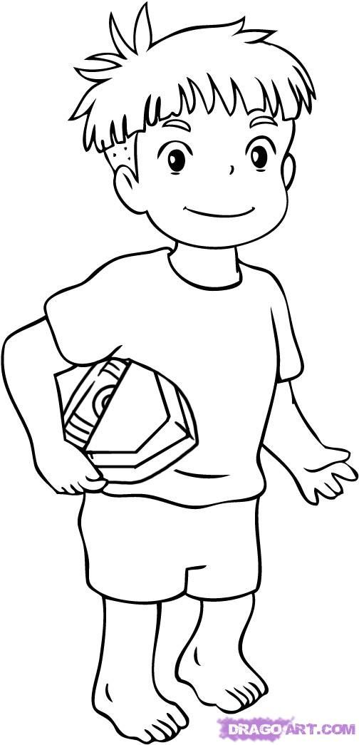 Ponyo pesquisa google projects to try pinterest for Ponyo coloring pages