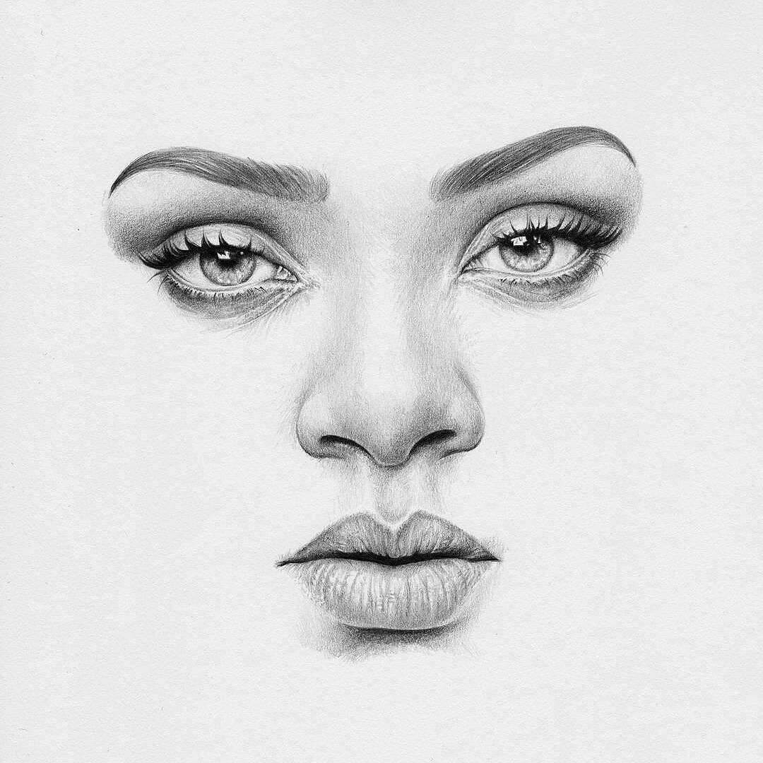 T S Abe On Instagram Repost Of My Badgalriri Drawing For The Rihannanavy Rihanna Rih Realistic Drawings Face Pencil Drawing Realistic Pencil Drawings