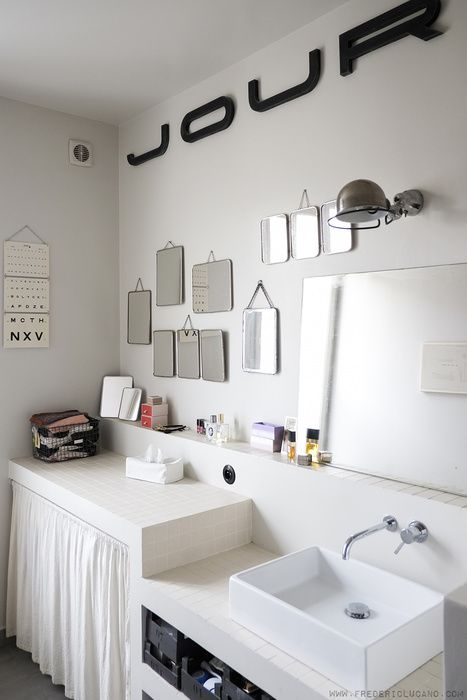 En vert kaki | Sdb | Salle de Bain, Deco salle de bain et Idée déco ...