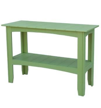 Amish Polywood Outdoor Buffet Table