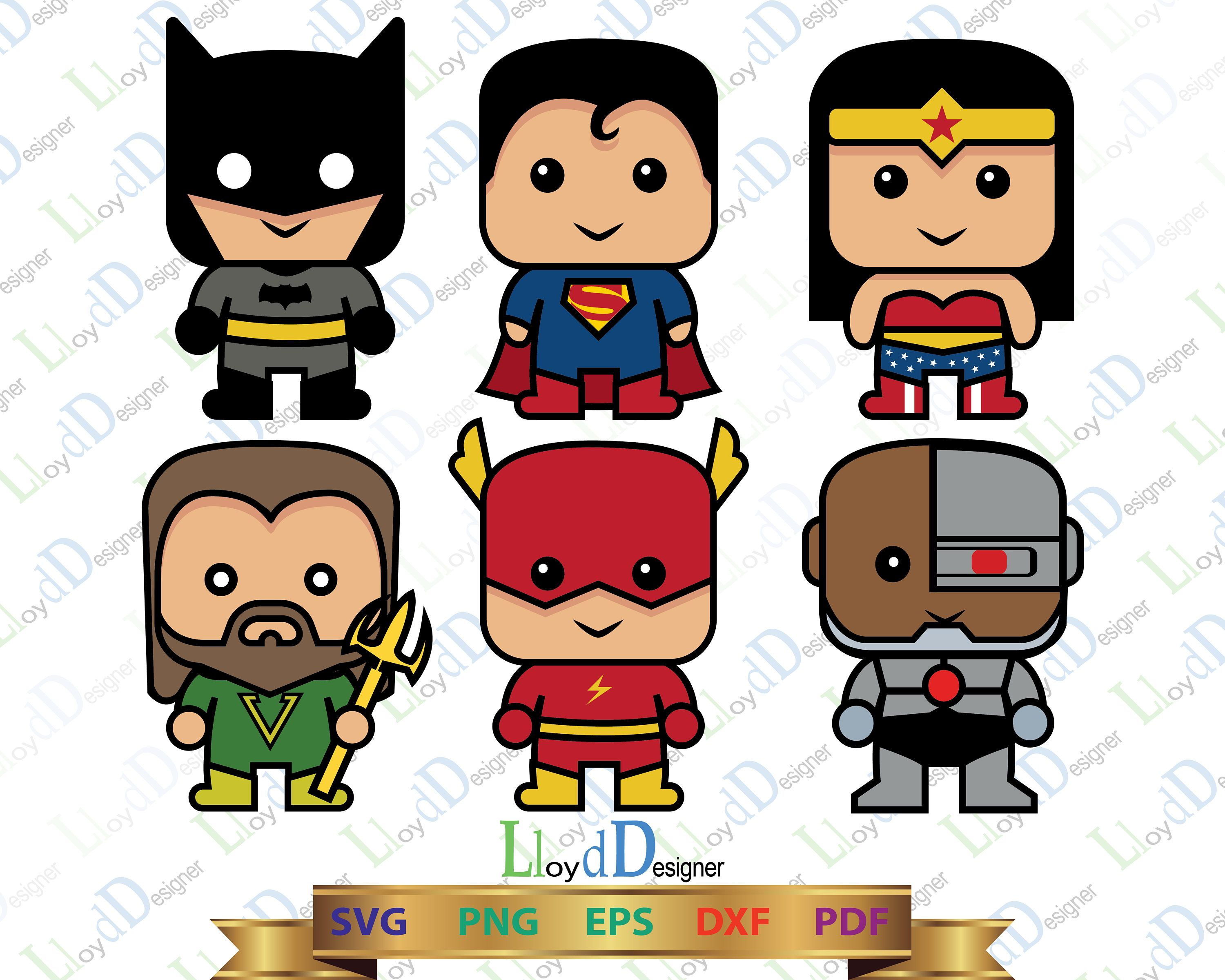 justice league svg cute justice league clipart batman svg kid s rh pinterest com Justice League Checks Justice League Checks