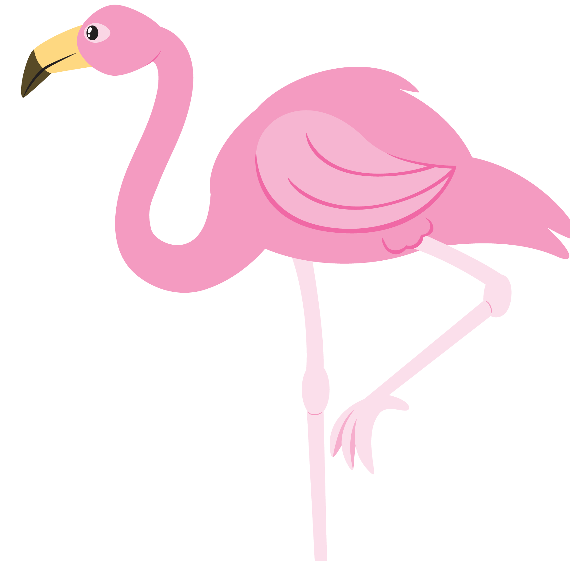 small resolution of flamingo clipart