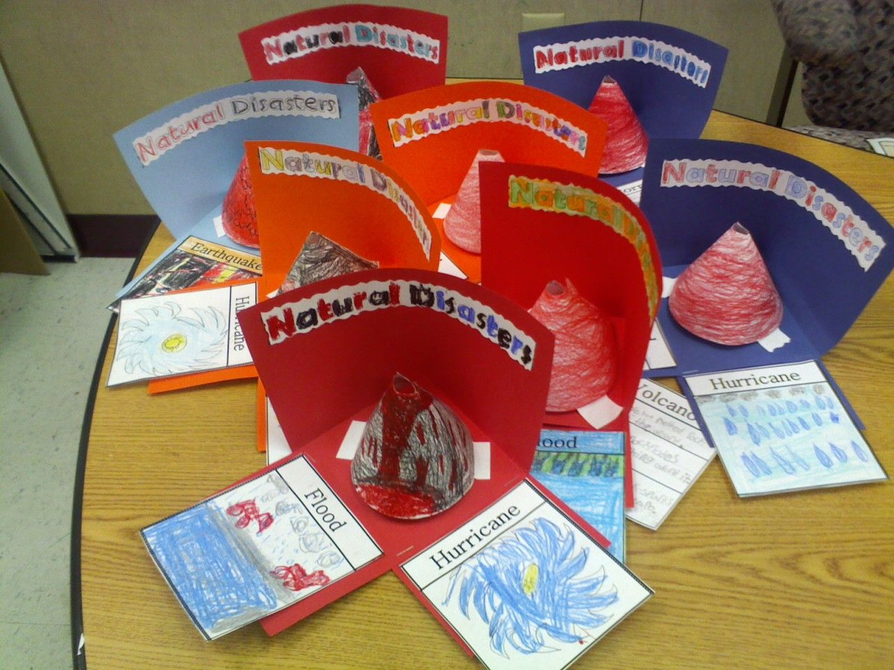 Natural Disaster Project- 1st Grade Science Ideas, Science Lessons, Second  Grade, Grade