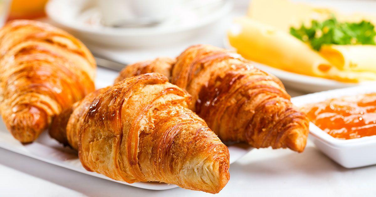 طريقة عمل الكرواسون بالجبنة Recipe Food Recetas Croissants