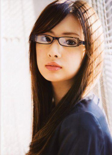 「北川景子 メガネ」の画像検索結果