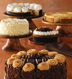 Cheesecake Factory Club - Send 3 months of cheesecake. Decadent gift idea. Sometimes there is a shipping coupon at: ...