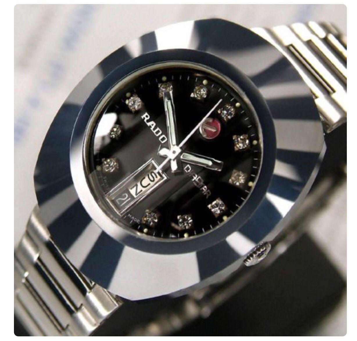Rado Diastar Vintage Watches Watches For Men Wristwatch Men