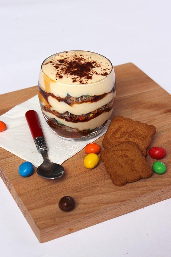 Tiramisu aux m m s pour p ques dessert in glass tiramisu dessert recette - Comment cuisiner la mascarpone ...