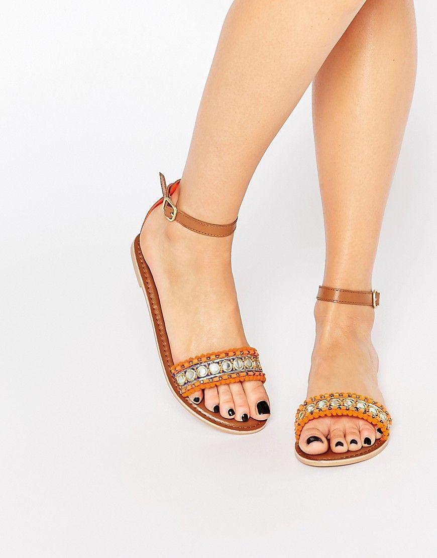 Zapatos blancos de verano Boohoo para mujer 4ZD1OflG