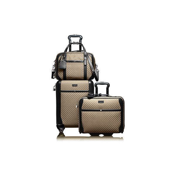c9e77cdd0dc5 Gucci Carry-On Pilot Case With Wheels (44,420 MXN) ❤ liked on Polyvore  featuring men's fashion, men's bags, bags, luggage, bolsas and travel