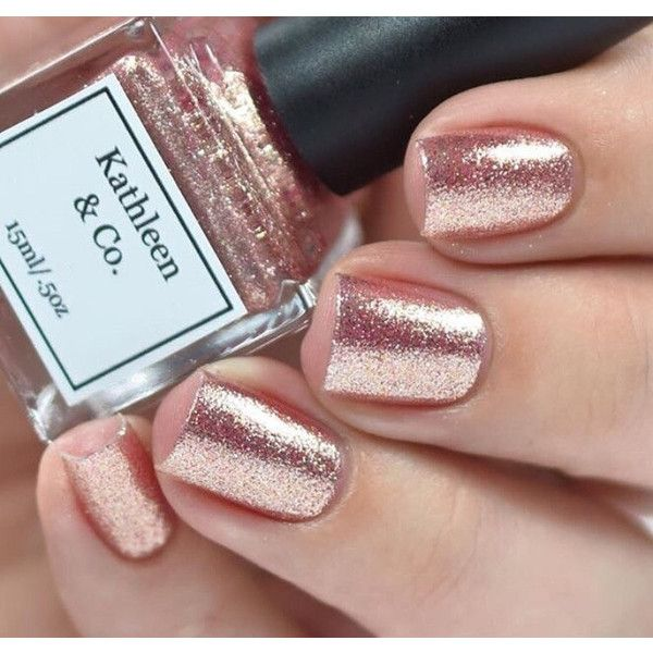 Rose Gold Digger Nail Polish 5 Free Cruelty 10