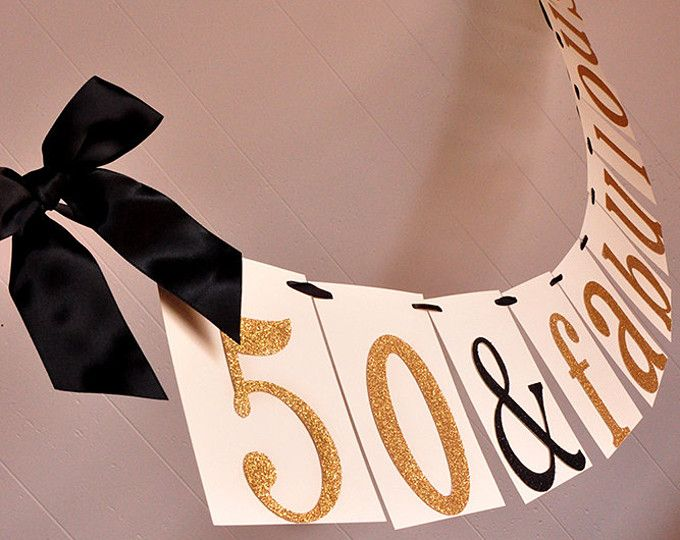 Personalised White Damask Happy 30th Birthday Fabric Party Banner Decoration
