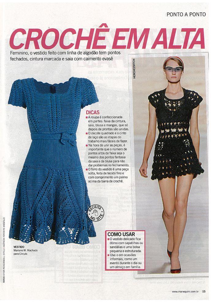 Cool crochet dress pattern knitting and crochet pinterest cool crochet dress pattern dt1010fo