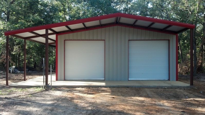 Eagle Steel Buildings Tyler Tx Coppertop Shops Metal