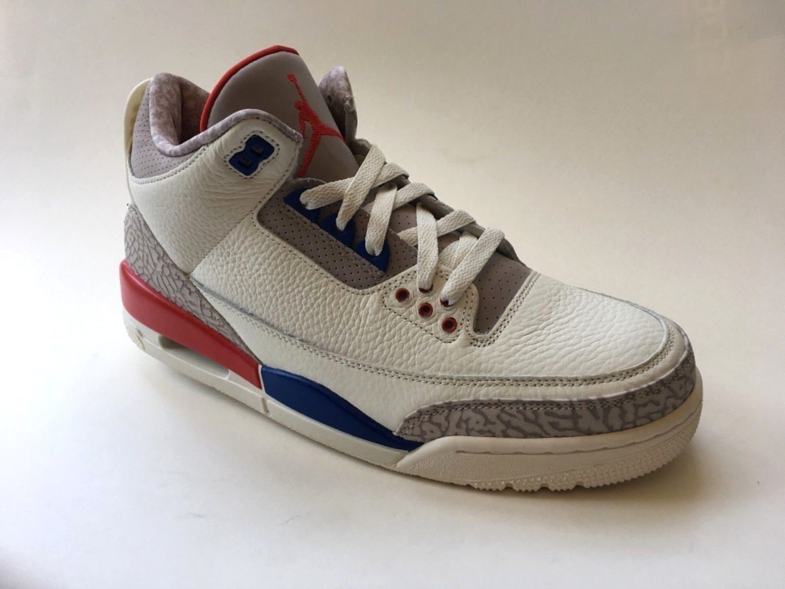 sports shoes 2beb4 08716 Air Jordan 3 Retro Charity Game USA International Flight IN STOCK Big Kid s  6.5 (eBay Link)