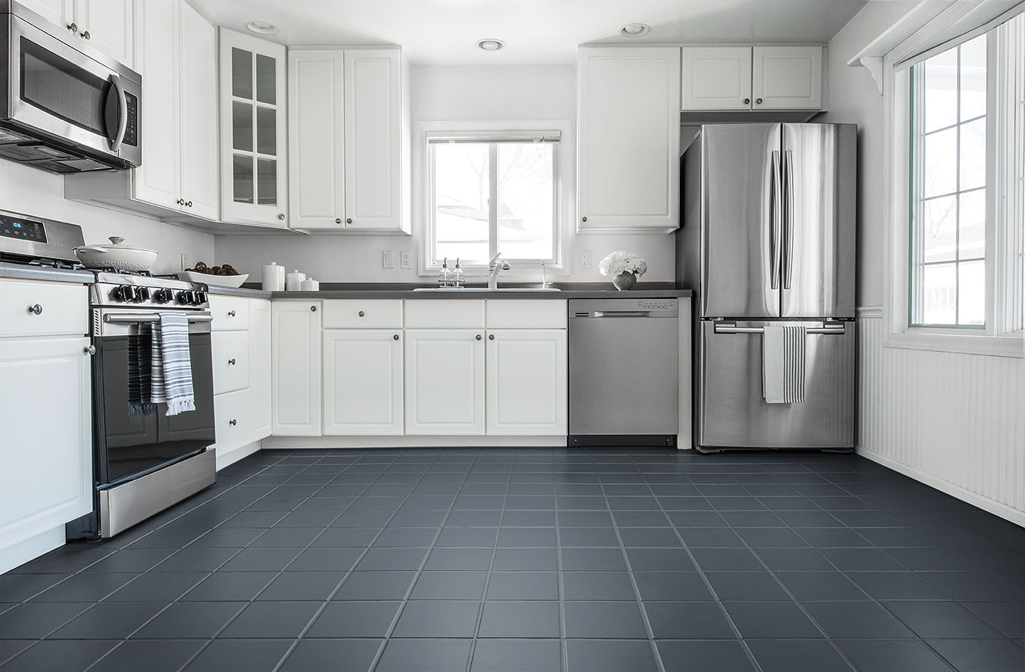 Rust Oleum Home Color Tool In 2020 Painted Kitchen Floors Kitchen Flooring Grey Tile Kitchen Floor