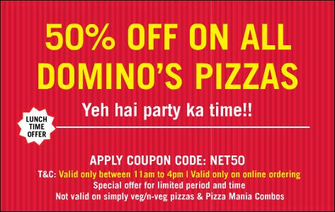 dominos pizza carryout coupons