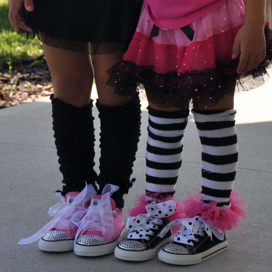 Little Girls Bling Converse All Star