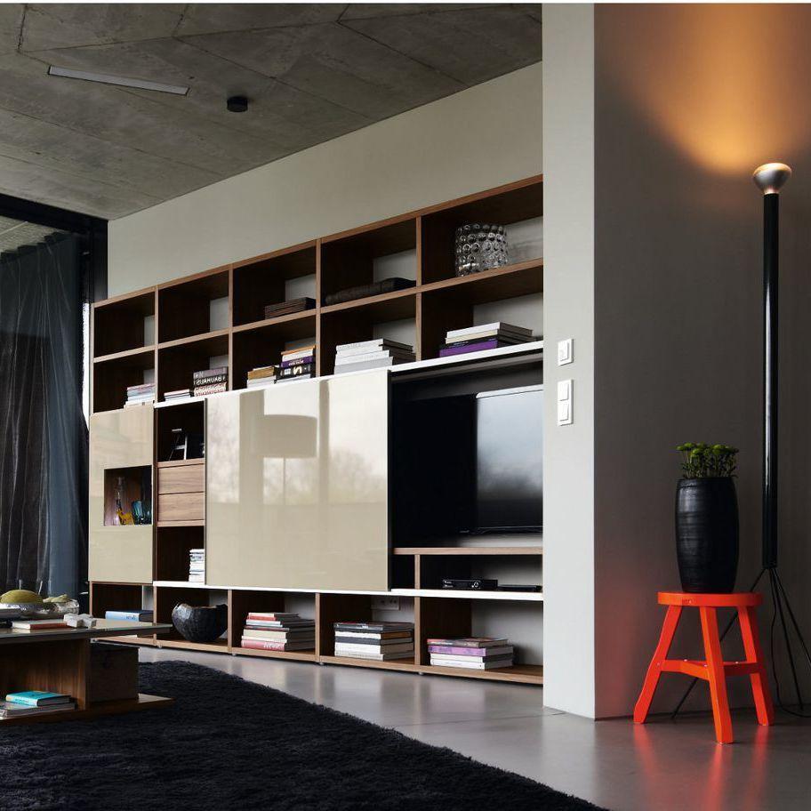 20 stilvolle ideen h lsta wohnwand zu gestalten h lsta. Black Bedroom Furniture Sets. Home Design Ideas