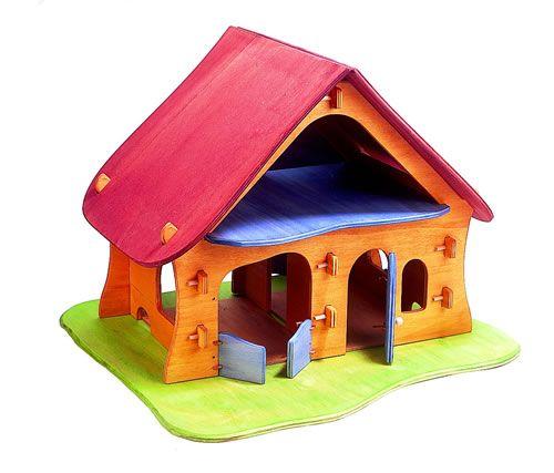 Toy Ostheimer Wooden Farmhouse