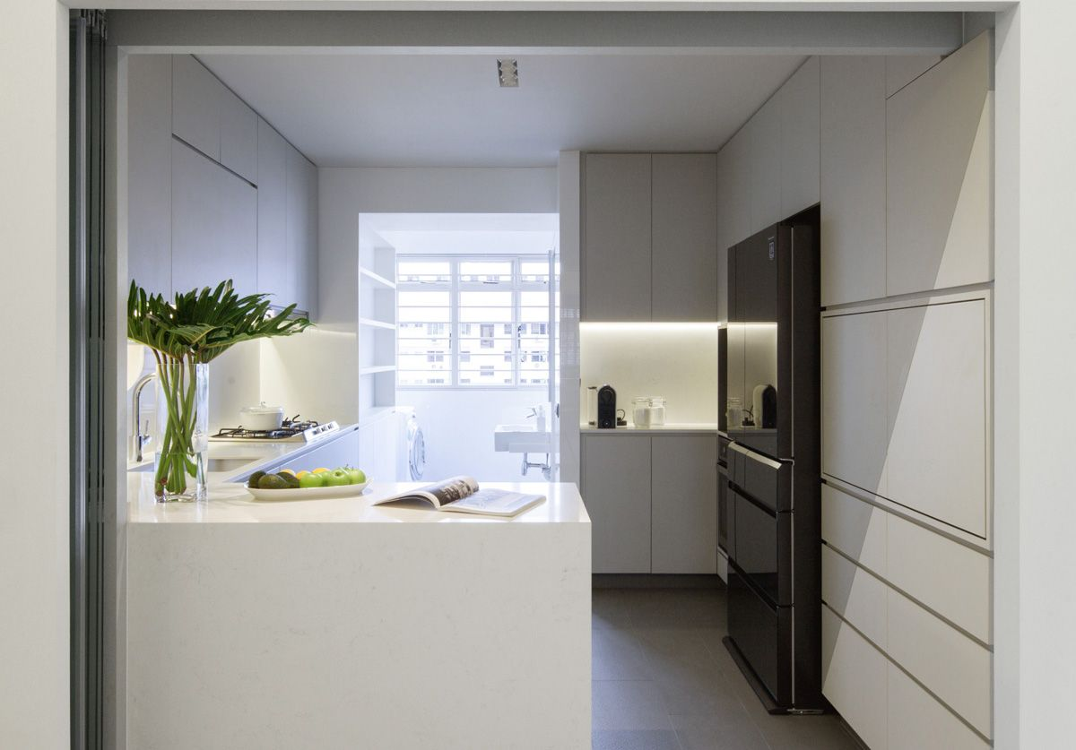 One Clever Design Trick By Studio Wills Brightens Up This HDB Home