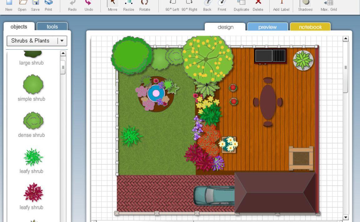 Programy do projektowania ogrodów   Garden planner, Free ...