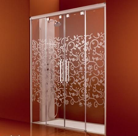 Resultado de imagen para puertas en acr licos para ba os - Puerta corrediza para bano ...