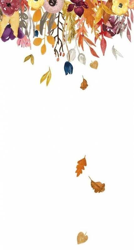 18x Leuke Herfst Wallpapers Aquarel Behang