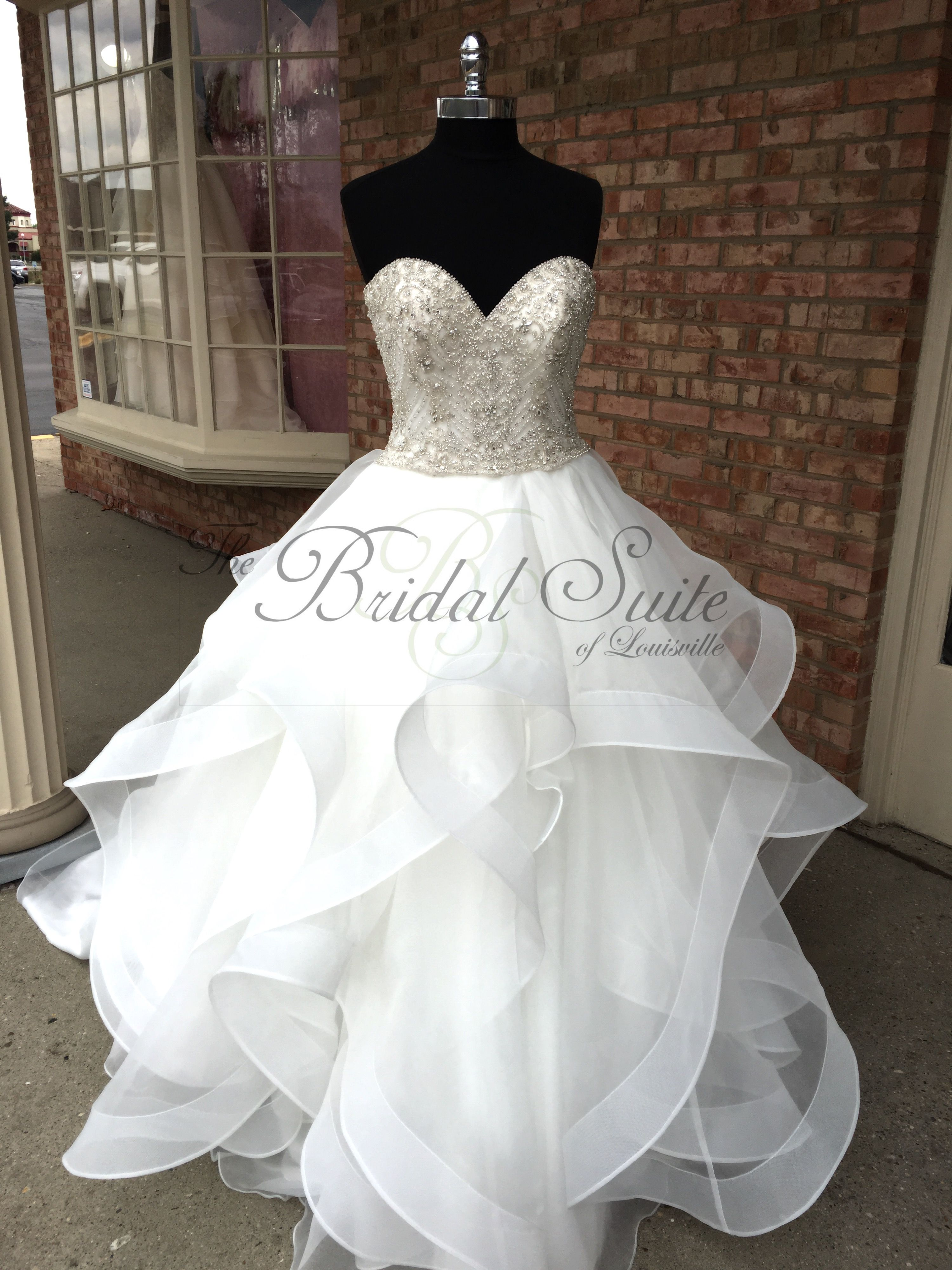 b9db68bb125    This Dress and MORE~ Available at The Bridal Suite of Louisville~   weddingdress  bridalgown  weddinggown