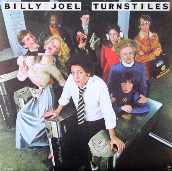Billy Joel Turnstiles Canada 1976 Lp Near Mint