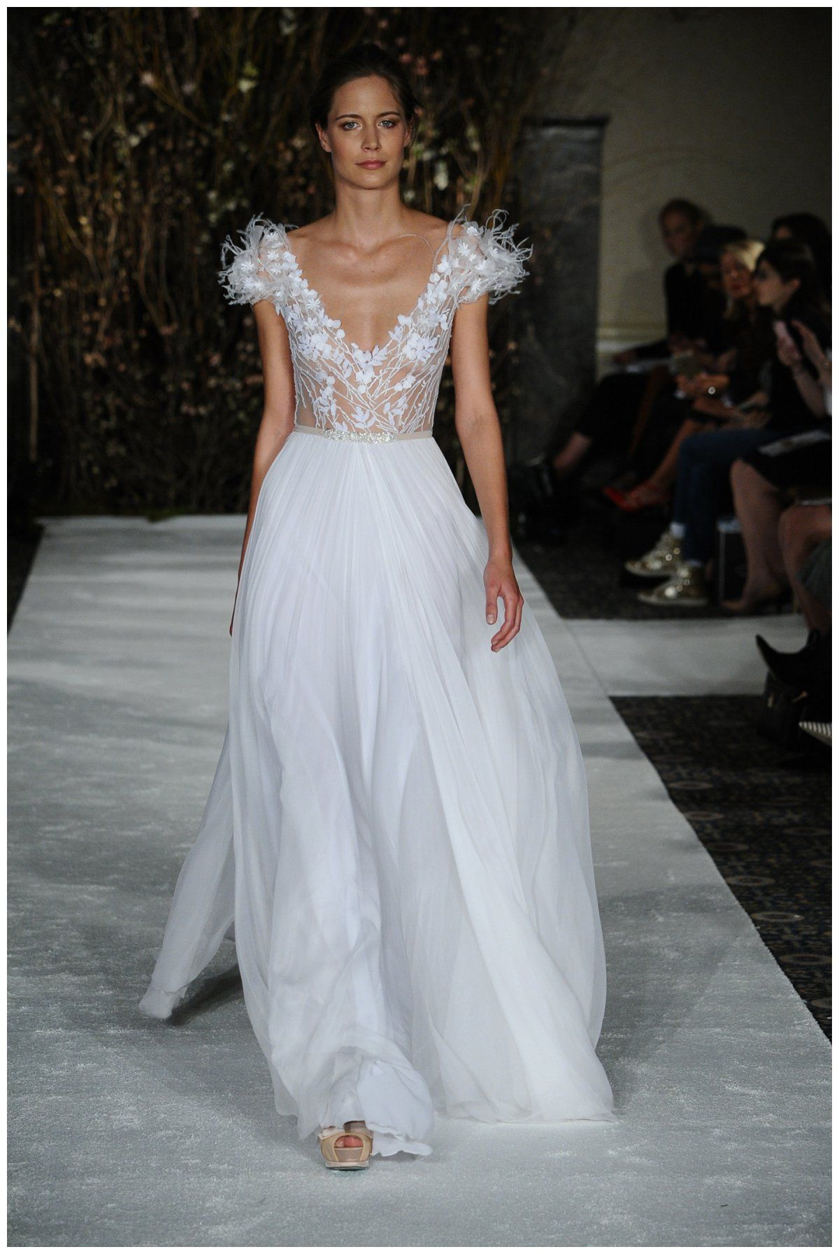 Wedding Dress by Mira Zwillinger from the Spring 2017 collection ...