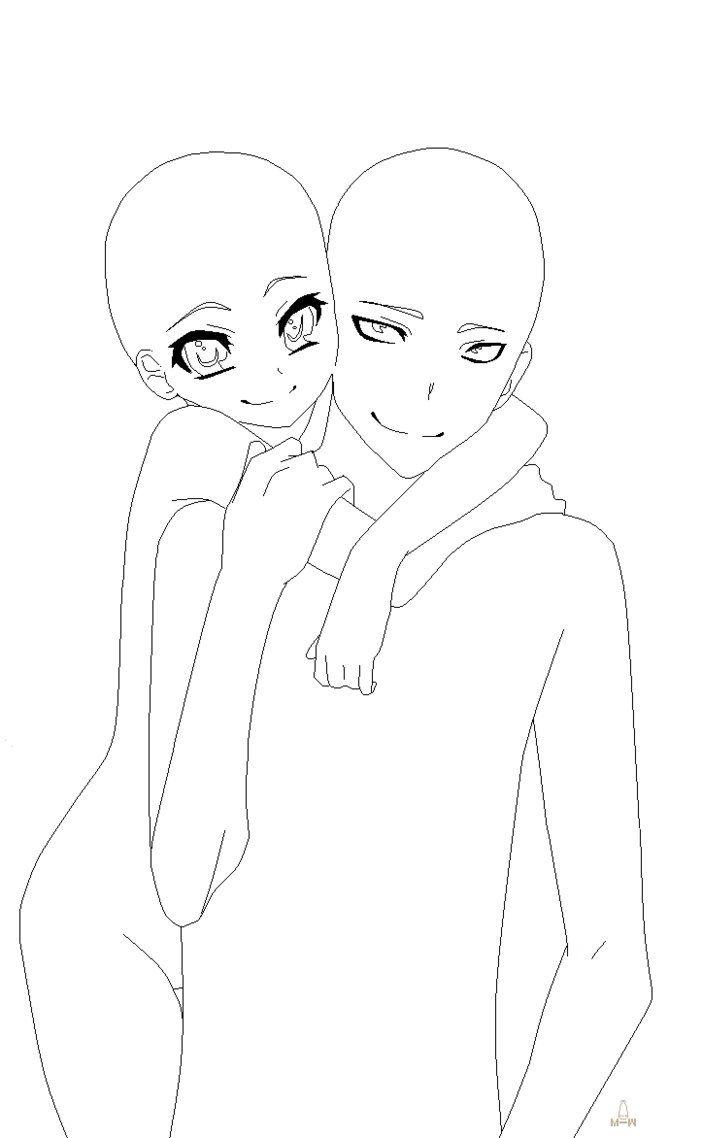 Anime Hugging Base : anime, hugging, Drawing, Base,, Drawings,, Manga