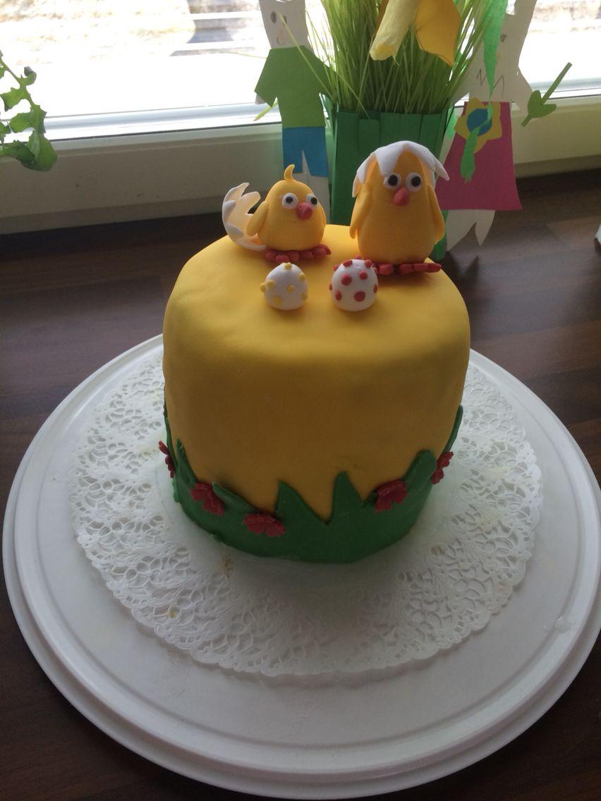Pääsiäistipu kakku