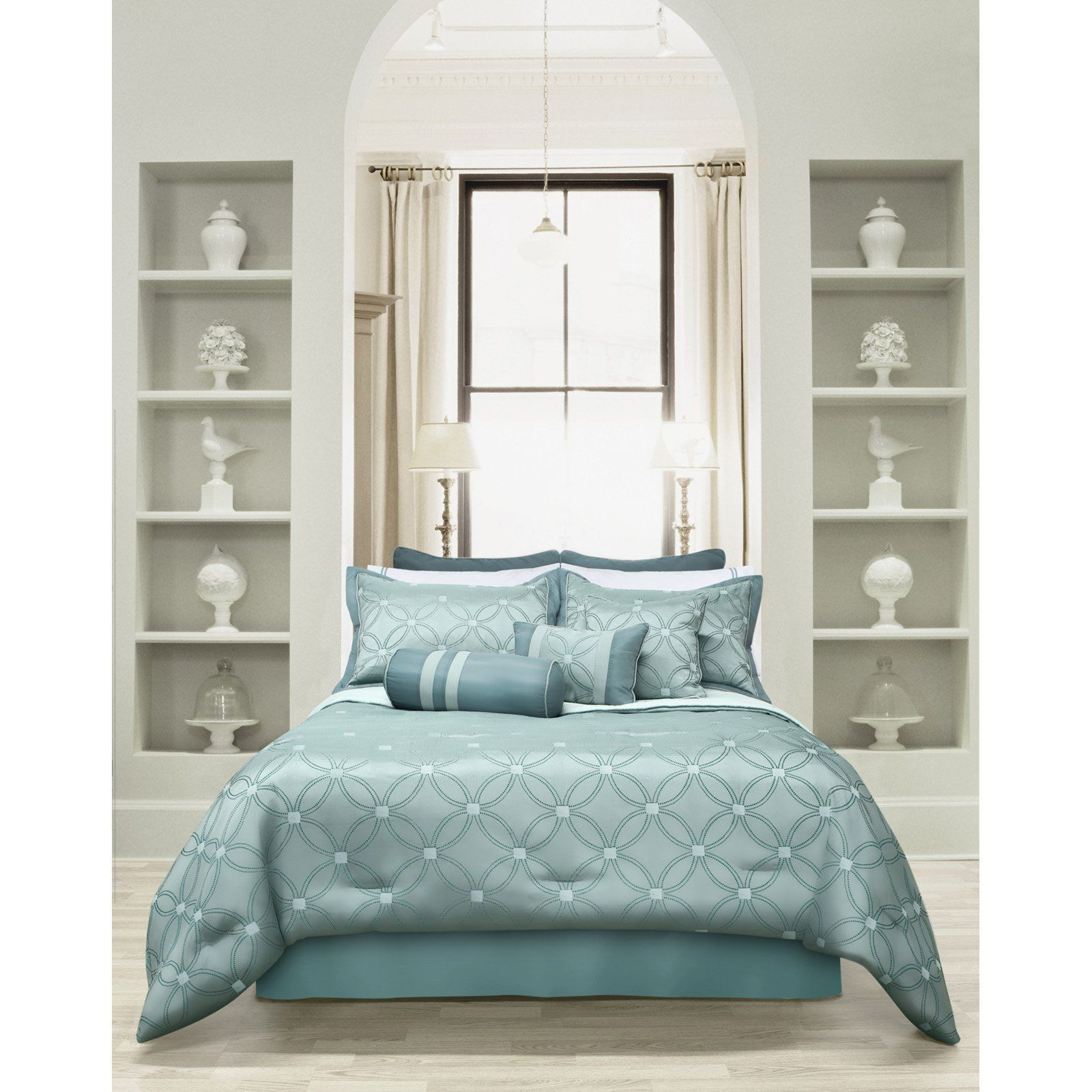 Universe 7 Piece Comforter Set by Safdie and Co - 60297.7Q.19