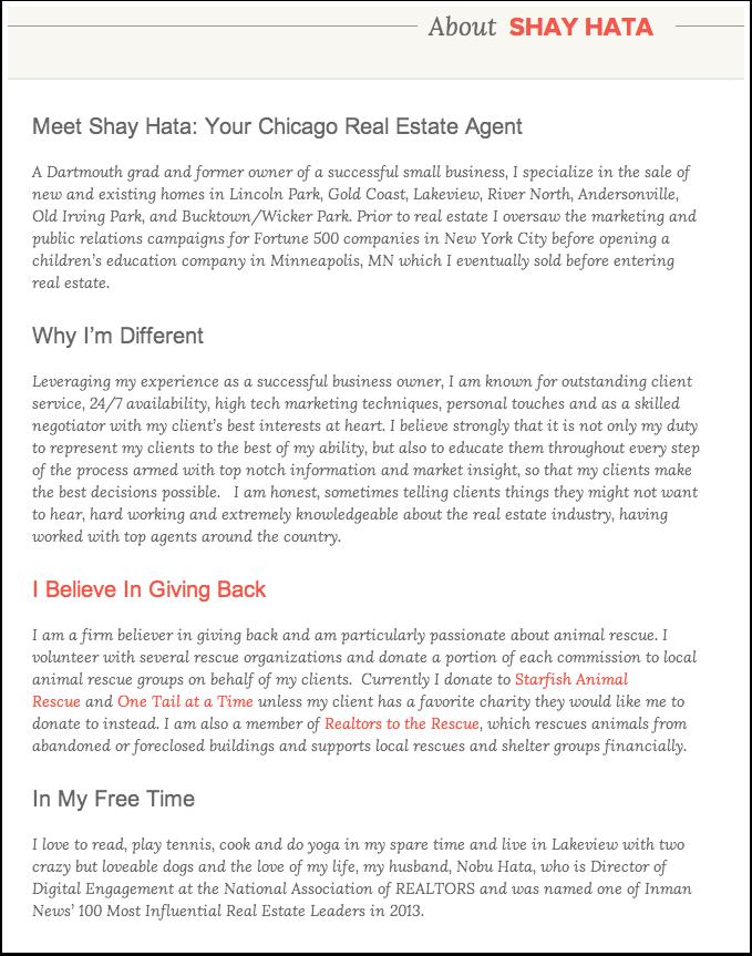 Agent Bio | real estate in 2019 | Realtor agent, Real estate