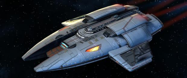 STO: Introduction to Pilot Ships | Star trek ships, Star ...