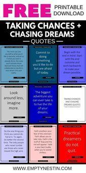 Photo of 28 Blow Your Mind Zitate über das Eingehen von Risiken und das Jagen von Dr …