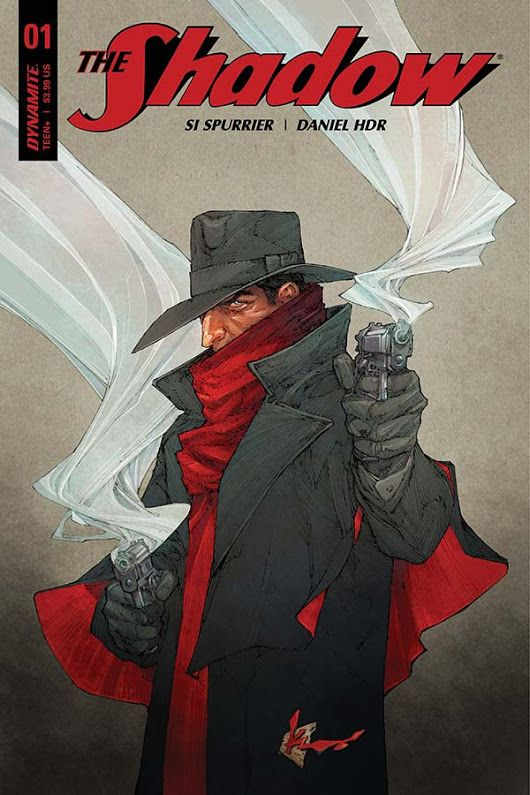 NEW COMIC-BOOK SERIES THE SHADOW: LEVIATION