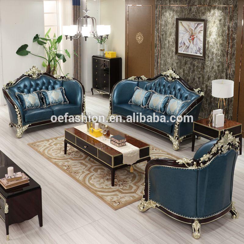 Oe Fashion Modern Dubai Living Room Furniture Sofa Set Designs