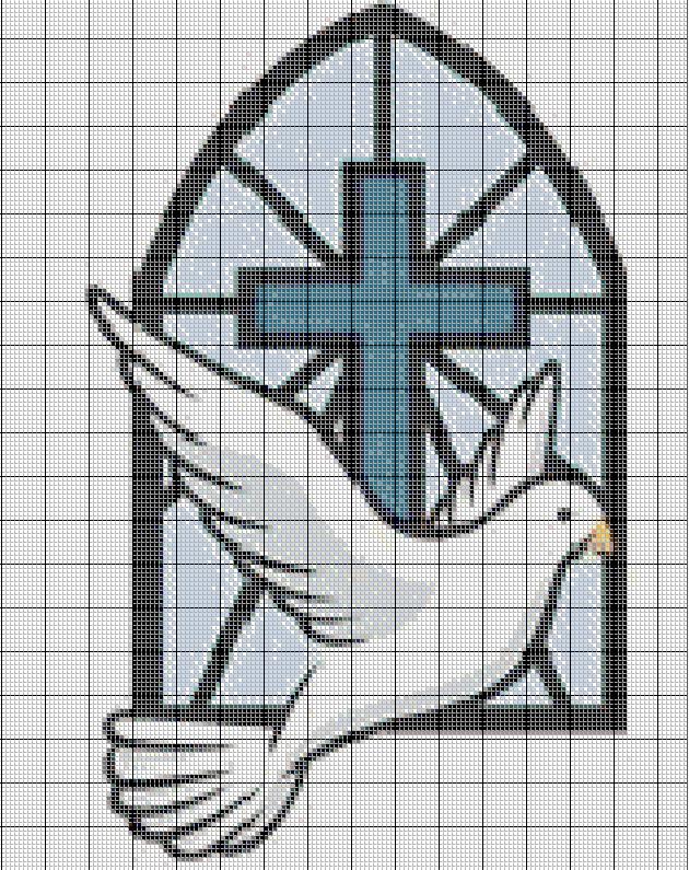 Costuras Stephany : Patrones De Punto de Cruz Religiosos | VIRVI ...