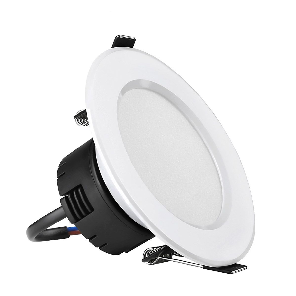 Le 8w 3 5 Inch Led Recessed Lighting 75w Halogen Bulbs Equivalent Not Dimmable Led Driver Included 400lm Warm White 3000k 90 Beam Angle Recessed Ceiling Lights Recessed Lights Led Downlight Recessed Ceiling